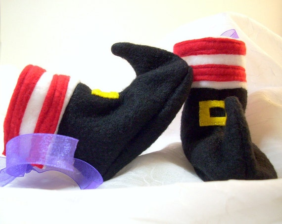 Witch Baby Booties Halloween Baby Shoes