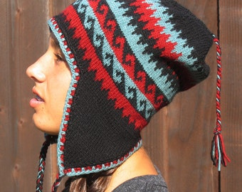 Knit Pattern - Chullo Hat, Navajo inspired