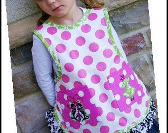 Nana's Child's NO-Tie Apron PDF Pattern Sizes 2-12yrs