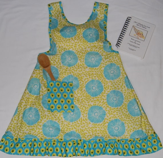 Mom's No Tie Apron PDF pattern sizes 10 misses to 28 womens