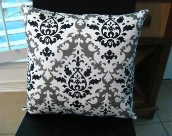 Modern design decorative throw pillow - handmade throw pillow