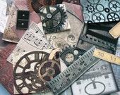 Steampunk Paper Altered Art Kit