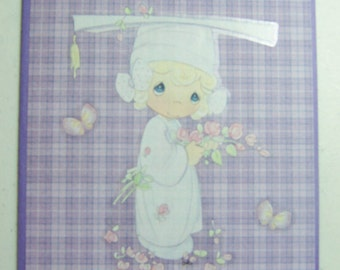 Handmade, Precious Moments Graduation Greeting Card