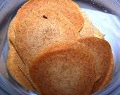 Cinnamon Ginger Crunchy Crisps--SUGAR FREE