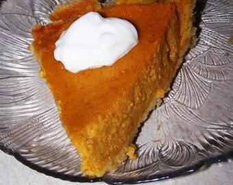 SUGAR & GLUTEN FREE Sweet Potato Pie