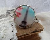 Parisian Roses Cuff Bracelet