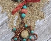 Goodnight Sweet Moon, Hello Summer Sun Necklace Set