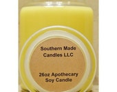 2 Pack of 26 oz. Apothecary Jar Pure Soy Wax Candle