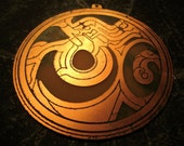 Doctor Who Seal of Omega Medallion