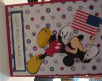 Mickey Mouse God Bless America