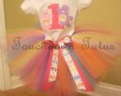 Care Bear Tutu birthday outfit