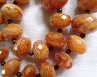 Vintage AVON faceted bead necklace
