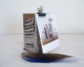 vintage grater/candle holder/upcycled memo board from belgium