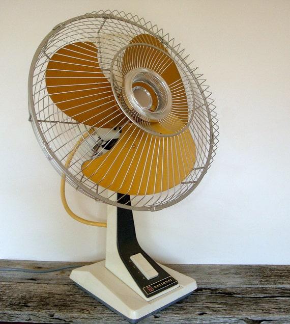 reserved for hayley - vintage japanese national electric desk fan