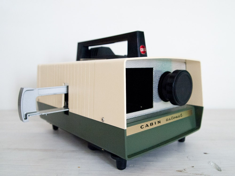 cabin automat slide projector instruction manual