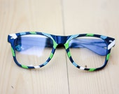 Hand painted retro glasses - RESERVED