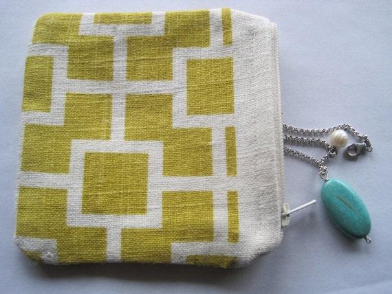 zipper jewelry pouch storage travel coin purse