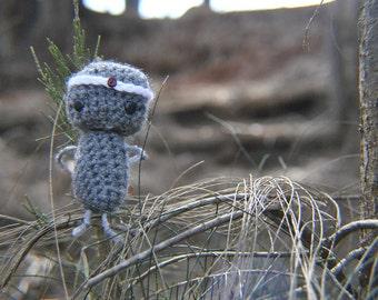 Crocheted Amigurumi Asian Chimi