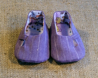 Louis Baby Shoes - PDF Pattern - Newborn to 18 months.