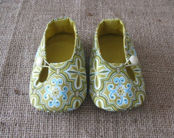 Otto Baby Shoes - PDF Pattern - Newborn to 18 months.