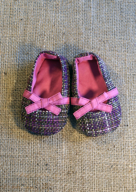 Keeley Baby Shoes - PDF Pattern - Newborn to 18 months.