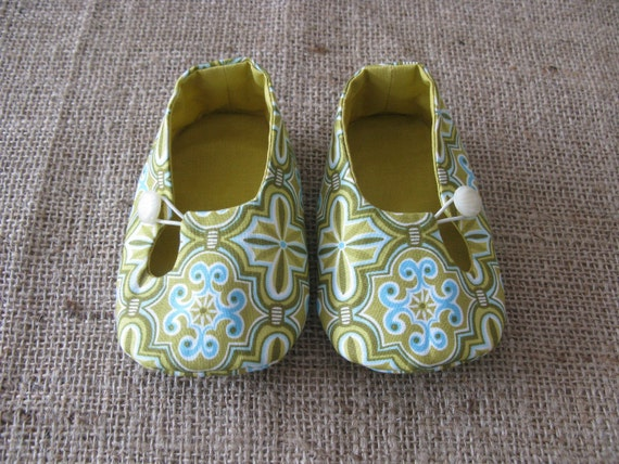 Otto Baby Shoes - PDF Pattern - Newborn to 18 months.
