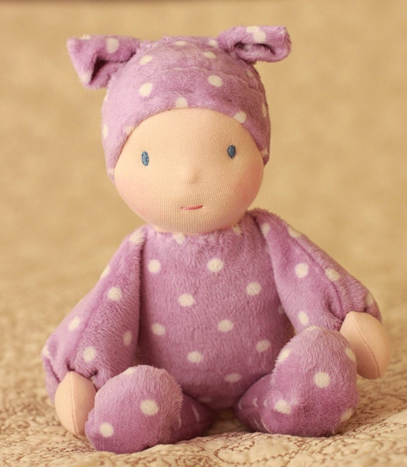 Babies First Waldorf Doll by Jemilynndolls Ready To Ship