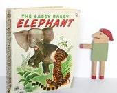 The Saggy Baggy Elephant Vintage Little Golden Book