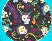 Dia De Los Muertos Tortilla Warmer - Nature Calaveras