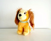 vintage toy : 1980s LADY & THE TRAMP stuffed animal