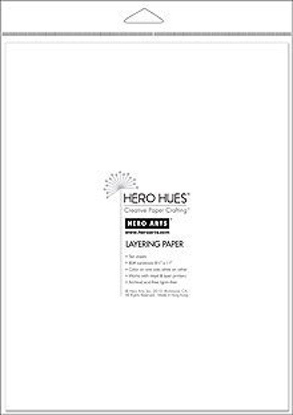 Hero Arts Snow Layering Paper PS610
