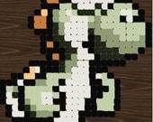 Instant Download Pattern - Inspired Yoshi Crochet Rug