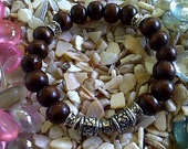Boasy Arko bracelet (wood and silver bracelet)