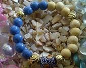 Kiss The Sky (recycled glass bracelet)