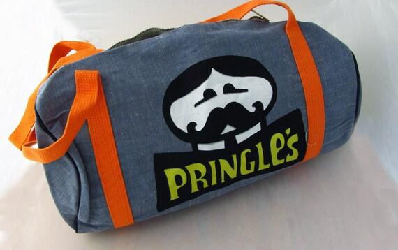 Vintage Pringles Potato Chips Duffel or Gym Bag