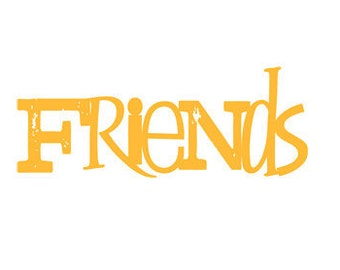 Friends - Vinyl Wall Art