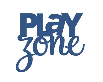 Play Zone - Vinyl Wall Art-