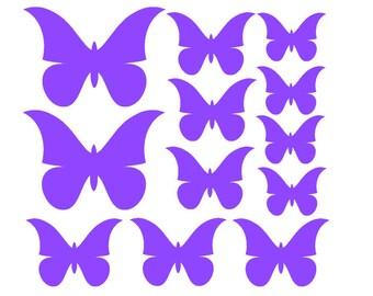 12 butterflies - Vinyl Wall Art