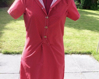 Red Polka Dot Teadress