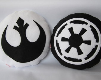 Star Wars Themed Cushions - Jedi and Sith Pair
