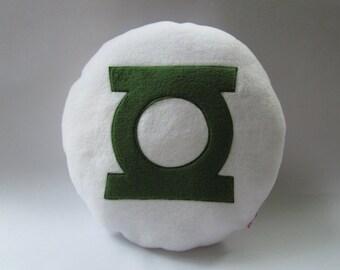 Green Lantern Logo Cushion