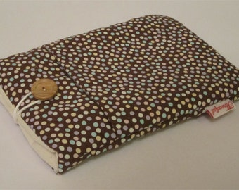 eReader Kindle Case - Brown Small Spotty