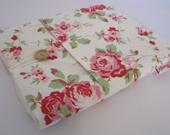 iPad Case - White Floral