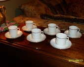 Child's Fine Porcelain Tea Cup Set