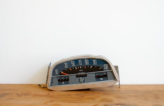 vintage french Citroen dashboard for display