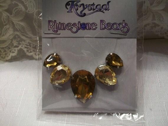 Set of Rhinestone Beads