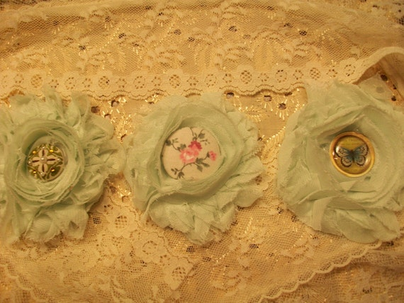 Shabby Chic Flower Set