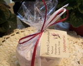 French Lavender Handmade Laundry Soap.  Gentle, safe and effective. Natural