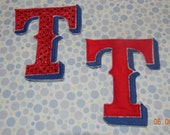 Texas Ranger Iron On Applique Patch for Boy or Girl
