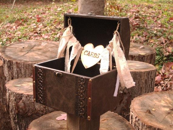 Chest  Style Card Box - Wedding Card Box - Medium  Trunk
